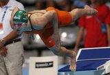Vėl Lietuvos rekordą pagerinusiai R.Meilutytei - pasaulio jaunimo čempionato sidabras
