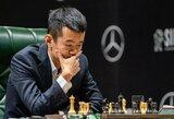 """Kinijos šachmatininkai nenugalėjo amerikiečių, bet tapo """"Online Nations Cup"""" čempionais"""