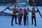 """Europos biatlono čempionatą idealiai baigę lietuviai: """"Dėl tokių akimirkų sportuojame"""""""