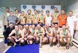 """Visas ketverias rungtynes laimėjęs """"Žaibas"""" tapo vandensvydžio turnyro Švedijoje nugalėtoju"""