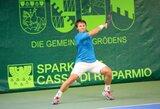 Geriausių pasaulio teniso žaidėjų reitinge lietuvių pozicijos šią savaitę nesikeitė