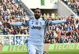 """""""Juventus"""" nutolo nuo persekiotojų, T.Krapikas su """"Sampdoria"""" įveikė """"Romą"""""""