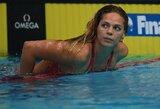 Paaiškėjo, kodėl J.Jefimova buvo diskvalifikuota finaliniame plaukime (papildyta)