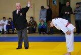 A.Klokovas pasirodymą atviros Europos dziudo taurės etape Minske baigė su viena pergale