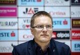 V.Dambrausko ekipa pralaimėjo Kroatijoje, K.Laukžemis žaidė Slovėnijoje