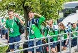 Lietuvos jaunimo olimpinio festivalio delegacija įsikūrė Dėre