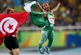 Pasaulį sužavėjo parolimpietės iš Nigerijos pergalės šokis
