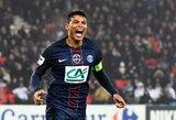 """T.Silva: """"Sunkiau gintis prieš L.Messi, nei C.Ronaldo"""