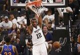 """L.Aldridge'as – nepatenkintas """"Spurs"""" gretose ir tai pasakė treneriui"""