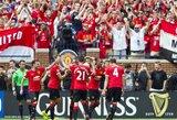 """""""Man Utd"""" paguldė ant menčių """"Real"""" ir Čempionų taurės finale žais su """"Liverpool"""" (+ kiti rezultatai)"""