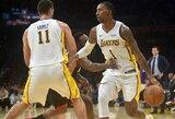 """Po pergalės prieš NBA čempionus """"Thunder"""" buvo sutriuškinta """"Lakers"""""""