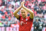 Oficialu: A.Robbenas traukiasi iš futbolo