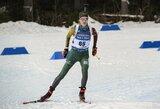 Pasaulio biatlono taurės sprinte G.Leščinskaitė pranoko N.Kočerginą, D.Alimbekava šventė pirmą karjeros pergalę