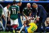 """Tite užstojo Neymarą: """"Jis nieko nepadarė, ant kojos jam užmynė varžovas"""""""