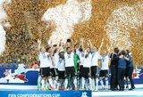 Pamatykite: Vokietijos rinktinės triumfas spaudos konferencijoje