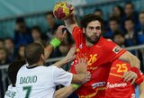 Ispanijoje prasidėjo pasaulio vyrų rankinio čempionatas