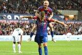 """""""Carabao"""" taurėje pergalėmis džiaugėsi """"Crystal Palace"""" ir """"Southampton"""" komandos"""