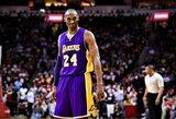 K.Bryanto žodžiai padėjo vaikinui ištverti 26 operacijas, 3 mln. sirgalių reikalauja pakeisti NBA logotipą