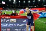 """""""Deimantinėje lygoje"""" – antras rezultatas per lengvosios atletikos istoriją, kritęs Sovietų Sąjungos laikų rekordas ir takelyje pasirodžiusi E.Balčiūnaitė"""
