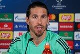 """Naujo kontrakto su """"Real"""" nepasirašantis S.Ramosas ramina: nėra reikalo skubėti"""