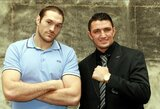 Nauja dinastija: T.Fury pusbrolis kovos dėl pasaulio sunkiasvorių bokso čempiono diržo