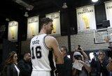 """""""Spurs"""" pasiruošimą sezonui pradės be svarbiausių žaidėjų"""