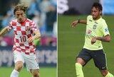 Pasaulio čempionato startas: Brazilija – Kroatija