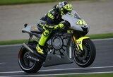 """V.Rossi po dvejų metų pertraukos vėl sėdo ant """"Yamaha"""" motociklo"""