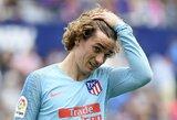 """Drama tęsiasi: """"Atletico"""" imsis teisinių veiksmų prieš A.Griezmanną įsigijusią """"Barceloną"""""""