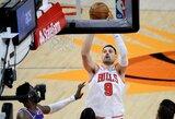 """""""Bulls"""" nutraukė """"Nets"""" pergalingą seriją"""