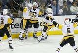 """""""Penguins"""" ir """"Blues"""" - per žingsnį nuo NHL ketvirtfinalio"""