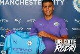 """""""Manchester City"""" oficialiai pristatė savo rekordinį pirkinį Rodri"""