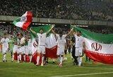 """""""Nike"""" pakišo """"kiaulę"""" Iranui: kelios dienos prieš pasaulio čempionatą teks ieškoti naujų futbolo batelių"""