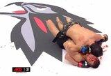 """Savo krauju narvą """"nudažęs"""" M.Veržbickas pralaimėjo MMA turnyre Vokietijoje"""