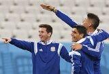 Argentina sieks apginti Pietų Amerikos garbę