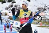 T.Kaukėnas buvo netoli pirmųjų pasaulio biatlono taurės sezono taškų