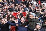 """""""Premier"""" lygos klubai planuoja visą naują sezoną žaisti be žiūrovų, kai kurie klubai patirs šimtamilijoninius nuostolius"""