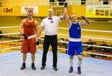 Prestižiniame jaunimo bokso turnyre lietuviai iškovojo du medalius