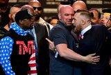 Pirmoje F.Mayweatherio ir C.McGregoro akistatoje Los Andželo publika labiau palaikė UFC žvaigždę