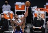"""""""Spurs"""" iš trečio karto įveikė """"Lakers"""""""