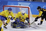 Švedų pergalę prieš vokiečius nulėmė vienas įvartis, vėl žibėjo 18-metis suomių talentas