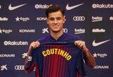 """""""Barca"""" direktorius 2017-ųjų rugsėjį: """"Jei būtume už 2 žaidėjus sumokėje 270 mln. eurų, turėtume atsistatydinti"""""""