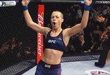 Pasaulio MMA apdovanojimuose R.Namajunas pripažinta metų kovotoja