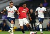 """B.Fernandeso 81-ąją minutę realizuotas 11 m baudinys išplėšė """"Man Utd"""" lygiąsias su """"Tottenham"""""""