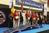 Europos jaunučių sambo čempionate lietuviai iškovojo keturis medalius