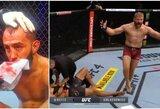 Lenkija turi naują UFC čempioną: J.Blachowiczius deformavo D.Reyeso nosį!