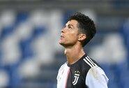 """2 įvarčių pranašumą iššvaistęs """"Juventus"""" susitikimą su """"Sassuolo"""" baigė lygiosiomis"""