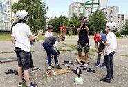 """Vaikus treniruojantis kalnų riedlenčių čempionas Š.Rasalas: """"Svajonė man tapo didžiausia gyvenimo motyvacija"""""""
