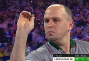 D.Labanauskas patyrė trečią pralaimėjimą iš eilės