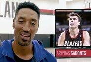 """Legendinis S.Pippenas įvertino A.Sabonį: """"Jis rengėsi gražiausiai"""""""